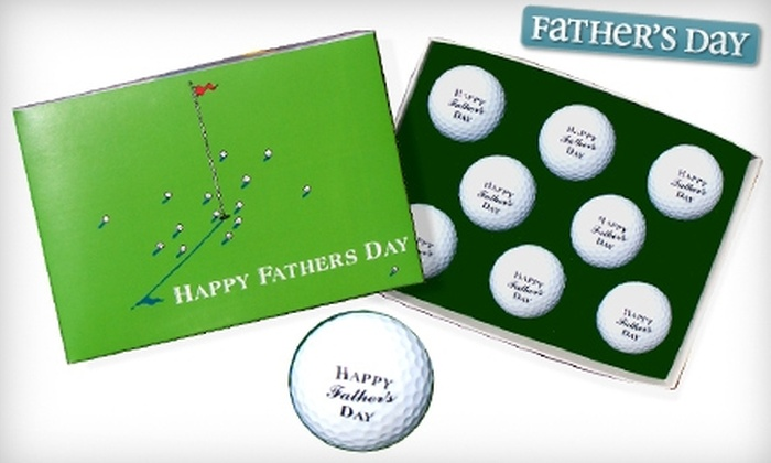 Golfbox.com: $25 for Father's Day Golf Balls from Golfbox.com ($55 Value)