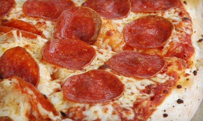 Roma Pizza - Historic Ybor: $12 for $25 Worth of Pizza, Sandwiches, Salads, and Drinks at Roma Pizza