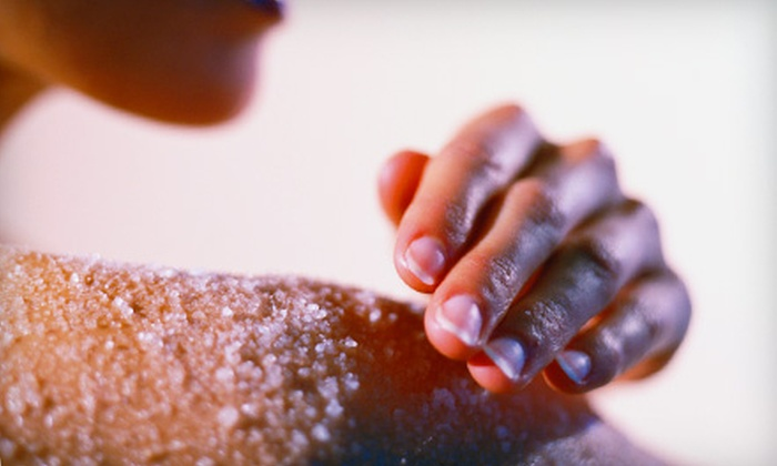 Pure Bliss Day Spa - Plumosus Centre Condominiums: Body Scrub and Massage or Body Scrub, Massage, and Bathing Ritual at Pure Bliss Day Spa in Jupiter