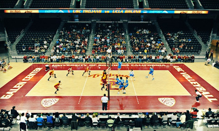 NCAA Men's Volleyball Final Four hosted by USC - Los Angeles Coliseum: $25 for NCAA Men's Volleyball Final Four for Two on May 3 and 5 at The Galen Center ($50 Value)