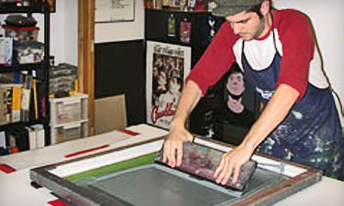 Fugscreens Studios - Chicago: $60 for a Three-Hour Screen-Printing Workshop at Fugscreen Studios ($130 Value)