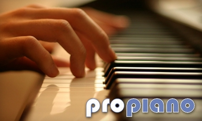 Pro Piano - Sudbury: $25 for a One-Hour At-Home Music Lesson ($50 Value) or $40 for Four Half-Hour In-Store Music Lessons ($80 Value) from Pro Piano