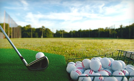 Choice of 20 Small Buckets or 10 Large Buckets of Range Balls (a $110 value) - Riverbend Golf Complex in Kent