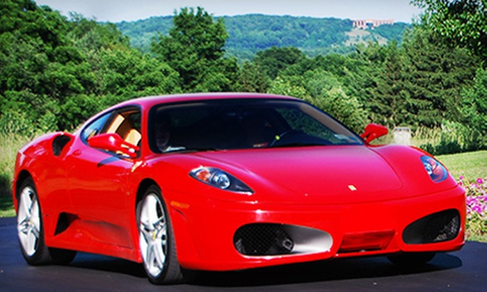Luxury Motors of Rochester - Victor: Test Drive or 4-Hour, 6-Hour, or Full-Day Rental of a Ferrari F430 F1 from Luxury Motors of Rochester (Up to 67% Off)