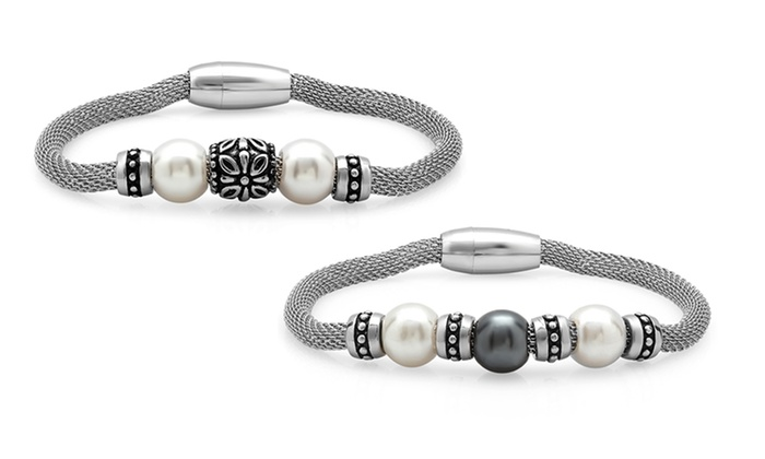 Pearl Bracelets: Freshwater Pearl Bracelets. Multiple Designs Available. Free Returns.