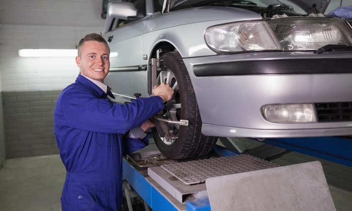 Sunland Tire Co - Multiple Locations: Wheel Alignment at Sunland Tire Company (34% Off)