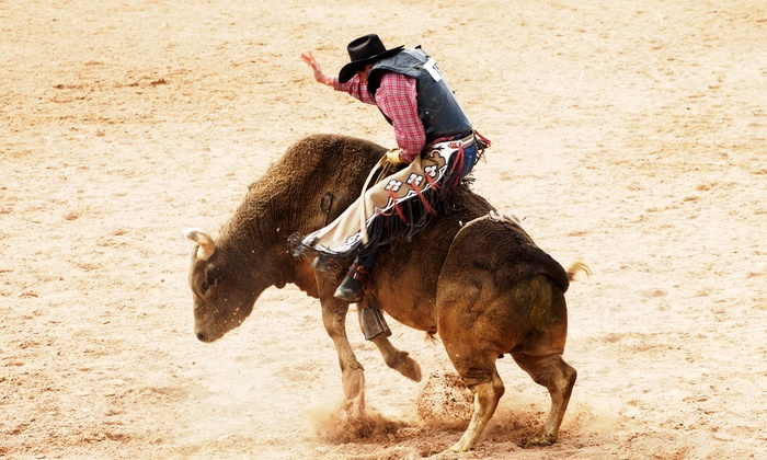 Professional Rough Stock Frontier Challenge - Budweiser Events Center: $25 for Two Tickets to the Professional Rough Stock Frontier Challenge at Budweiser Events Center (Up to $45.50 Value)