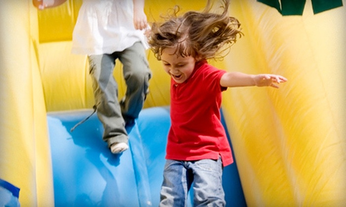 Monkey Joes - Monkey Joe's Lake Worth: One Walk-In at Monkey Joes Inflatable Kids' Playground with Hot Dog and Small Drink, or Five Walk-Ins (Up to 53% Off)