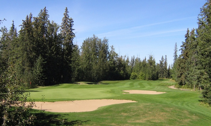 Westlock Golf Course - Westlock County: 18-Hole Round of Golf for Two or Four with Cart and Range Balls at Westlock Golf Course (Up to 55% Off)