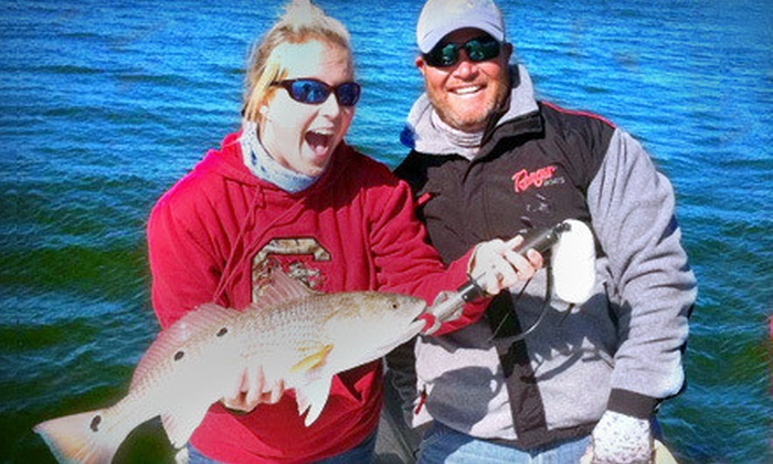 The Reel Deal Charters - Mount Pleasant: $185 for Four-Hour Inshore Fishing Trip for Up to Three People from The Reel Deal Charters (Up to $375 Value)