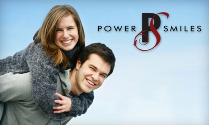 Powersmiles - Eagle: $49 for a Dental Cleaning Appointment ($209 Value) or $50 for a Take-Home Whitening Tray ($350 Value) at Powersmiles