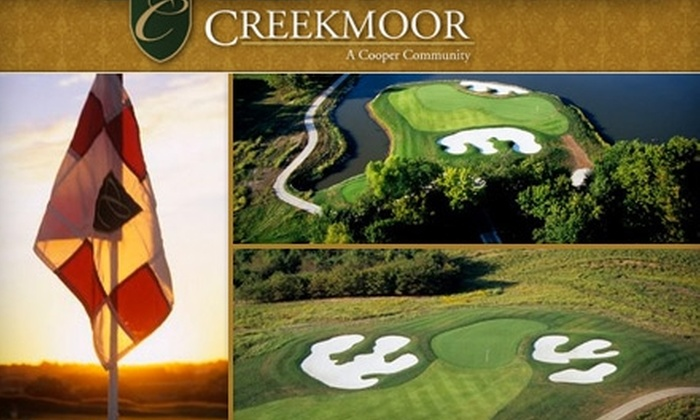 Creekmoor Golf Club - Raymore: $35 for 18 Holes of Golf and a Cart Rental at Creekmoor Golf Club in Raymore (Up to $69 Value)