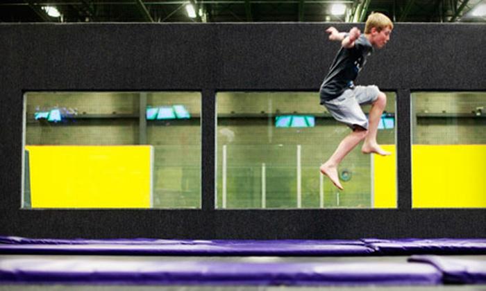 Get Air Sportsplex - Kaysville: $10 for One Hour of Trampoline Jumping for Two at Get Air Sportsplex ($20 Value)