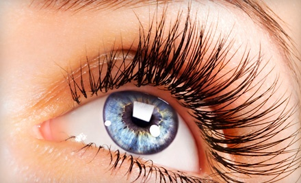 Full Set of Madame Lash Synthetic Eyelash Extensions (a $200 value) - Glow Hair & Nails in Calgary