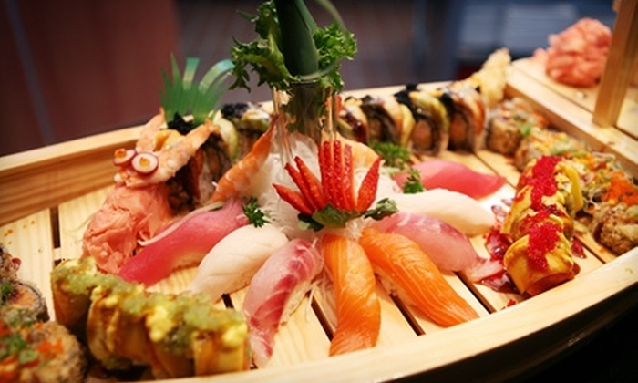 Shinto Japanese Steakhouse & Sushi Bar - Naperville: $25 for $50 Worth of Japanese Fare and Drinks at Shinto Japanese Steakhouse & Sushi Bar in Naperville