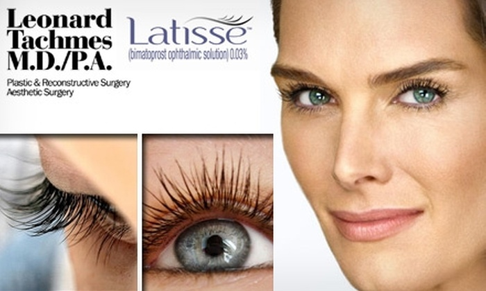 Leonard Tachmes MD PA - Nautilus: $59 for One Month Supply of Latisse's Eyelash Treatment and Consultation with Dr. Leonard Tachmes M.D. P.A. ($125 Value)