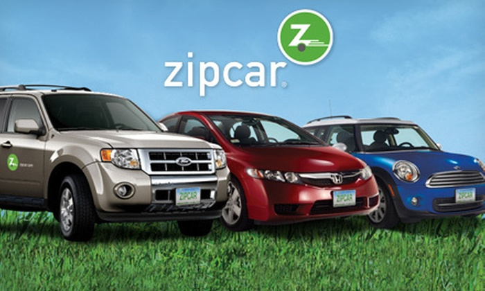 Zipcar: $20 for a One-Year Membership with $25 Driving Credit from Zipcar ($110 Value)