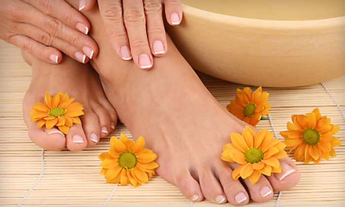 Artizon Hair Studios  - Fiano: Express or French Luxury Mani-Pedi at Artizon Hair Studios (Up to 51% Off)