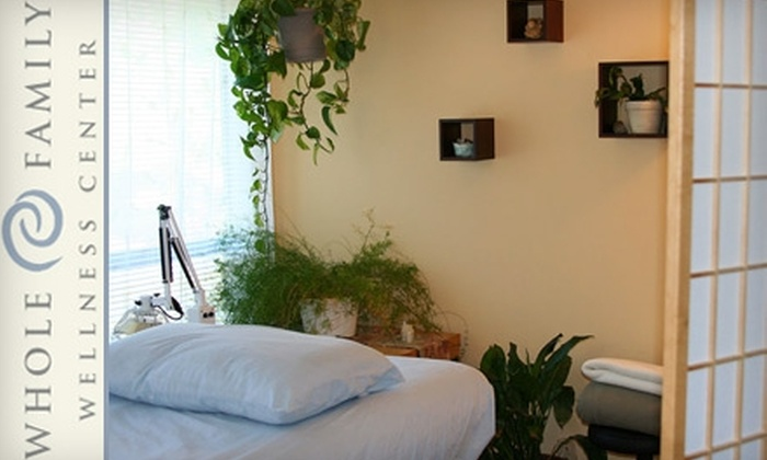 Whole Family Wellness Center - Multnomah: $50 for an Acupuncture Treatment or Naturopathic Medical Exam at the Whole Family Wellness Center