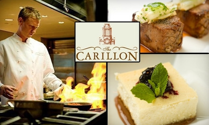 The Carillon  - Downtown: $25 for $50 Worth of Fine Dining at The Carillon