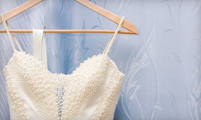Dry Clean Today - Multiple Locations: $69 for Wedding-Gown Preservation at Dry Clean Today (Up to $150 Value)