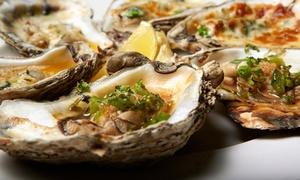 Hook Line & Schooner: Shrimp, Oysters, and Cocktails for Two or Four at Hook Line & Schooner (Up to 49% Off)