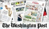 """The """"Washington Post"""" - Multiple Locations: $10 for 20 Weeks of Convenient Sunday Home Delivery of the """"Washington Post"""" ($37 Value)"""