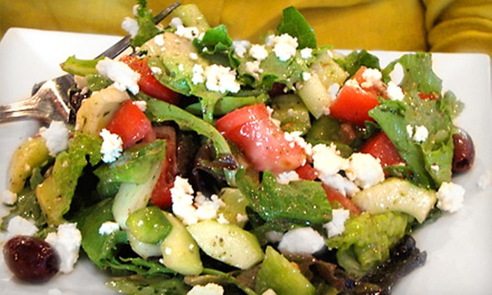 Taste Mezze - Olney Town Center: $34 for a Three-Course Prix-Fixe Dinner for Two at Taste Mezze in Olney (Up to $68 Value)