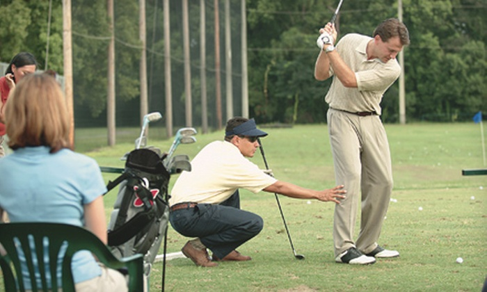 Hampton Roads Golf Academy - Multiple Locations: One, Two, or Three One-Hour Private Golf Lessons at Hampton Roads Golf Academy