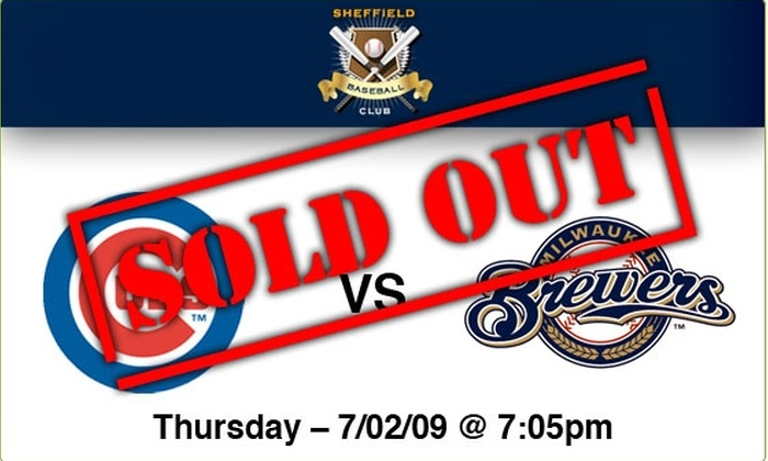 Sheffield Baseball Club - Lakeview: $89 Rooftop Tickets—Cubs vs Brewers, 7/2/09, 7:05 p.m.