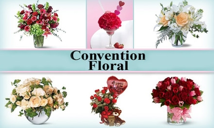 Convention Floral - U Street - Cardozo: $25 for $50 Worth of Flower Arrangements and More From Convention Floral