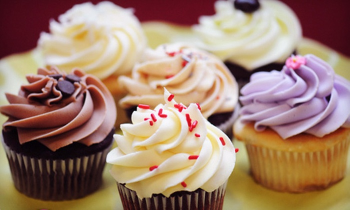 Bakery Gingham - Multiple Locations: $15 for One Dozen Cupcakes at Bakery Gingham ($30 Value)