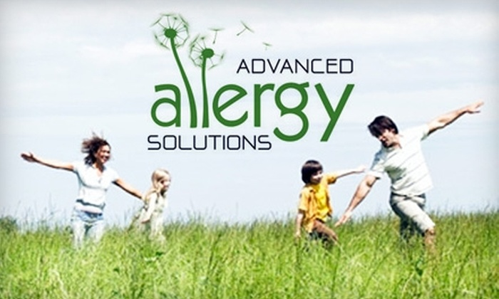 Advanced Allergy Solutions - Hayes Valley: $65 for Comprehensive Allergy Assessment and Treatment of One Allergen Family at Advanced Allergy Solutions ($155 Value)