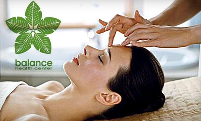 Balance Health Center - Center City West: $60 for a Meditative Massage at Balance Health Center ($150 value)