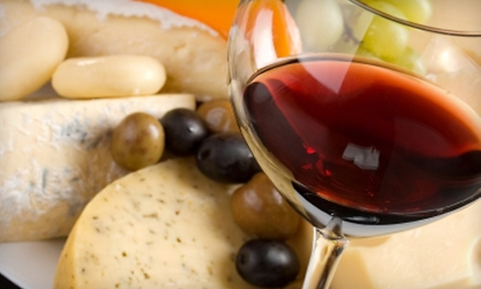 Clovis Point Wines - Riverhead: $30 for a Wine Tasting, Cheese Platter, and Glass of Wine for Two and Two Logo Glasses at Clovis Point Wines in Jamesport ($67 Value)