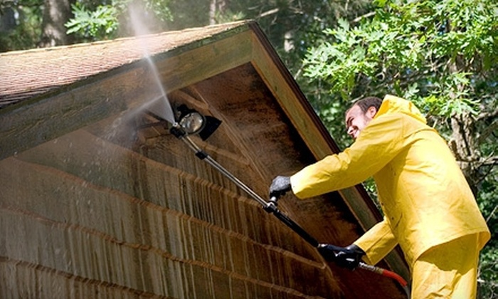 Duffy's Dirt-be-Gone - Virginia Beach: Exterior Pressure Washing for 2,000 or 2,500 Square Feet Homes from Duffy's Dirt-be-Gone (Up to 56% Off)