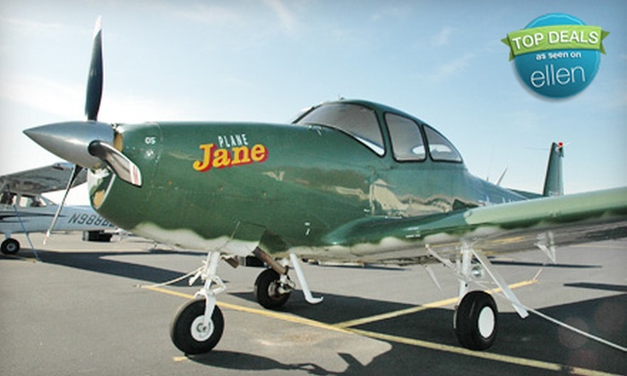 Boston Warbird Rides - Mansfield: $179 for a 45-Minute Vintage-Plane Ride for Two from Boston Warbird Rides ($400 Value)