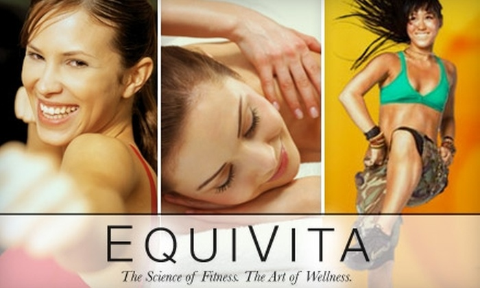 EquiVita - Grandview Heights: Your Choice of Zumba Classes, Kickboxing, or Massage at EquiVita. Choose from Four Options.