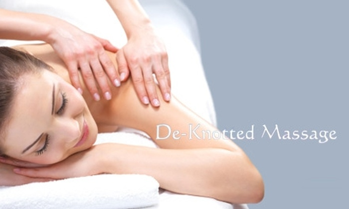 De-Knotted Massage - Prairie Lane: $30 for a One-Hour Swedish Massage at De-Knotted Massage ($60 Value)