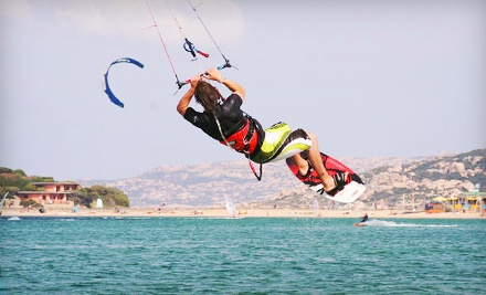Half-Day Kiteboarding Lesson on Land (a $140 value) - Feral Kiteboarding School in White Rock