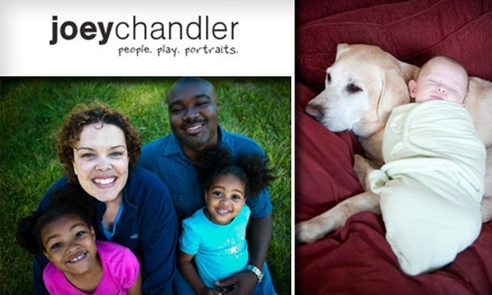 Joey Chandler Photography - San Francisco: $50 for a One-Hour Photo Session and CD with Joey Chandler Photography ($250 Value)