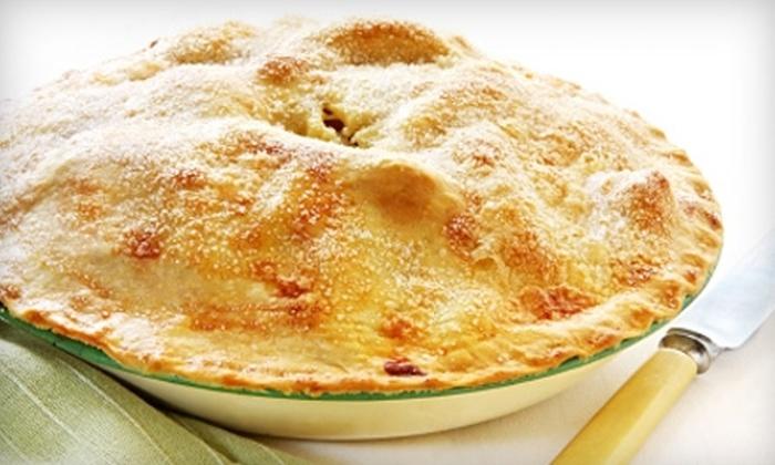 Pie Town Café & Dessert Shop - Shenandoah: $7 for $14 Toward a Fresh-Baked Pie or $10 for $20 Worth of Café Fare at Pie Town Café & Dessert Shop in Shenandoah