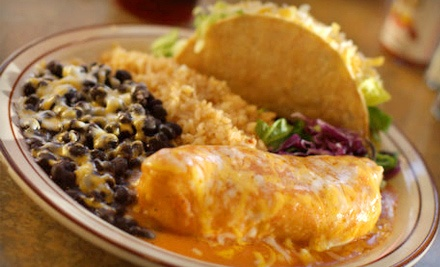 half off mexican fare for two at chino s rock tacos in