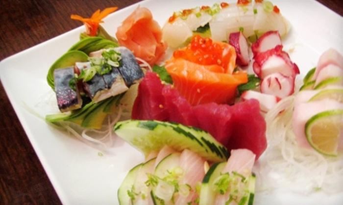 Shinobu Japanese Restaurant - Edgewater: $15 for $30 Worth of Sushi at Shinobu Japanese Restaurant