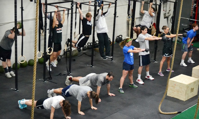 AE CrossFit - Woburn: 10 or 15 Visits or a 30-Day Weight-Loss Challenge at AE CrossFit (Up to 62% Off)