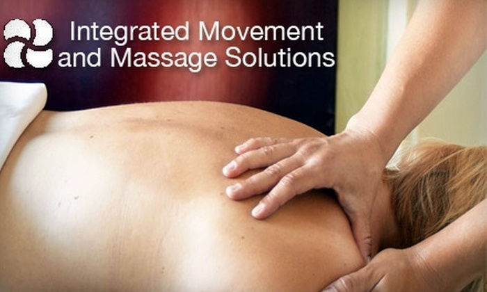 Integrated Movement & Massage Solutions - West Hartford: $95 for Three 60-Minute Deep-Tissue Massages at Integrated Movement & Massage Solutions in West Hartford ($195 Value)