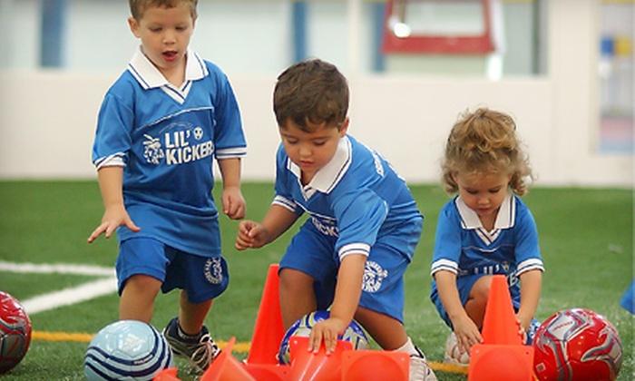 Las Vegas Indoor Soccer - Summerlin: Nine-Week Kids' Sports Classes and One-Year Membership to Las Vegas Indoor Soccer. Three Options Available.