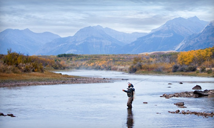 Bow Trout Fishing Adventures - Bridgeland: Introductory or Advanced Fly-Fishing Lesson from Bow Trout Fishing Adventures (Half Off)
