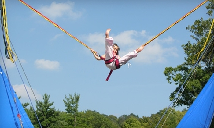 Bungy Fun Zone - Forest Park: $5 for Two Bungy Fun Rides at Bungy Fun Zone ($10 Value)