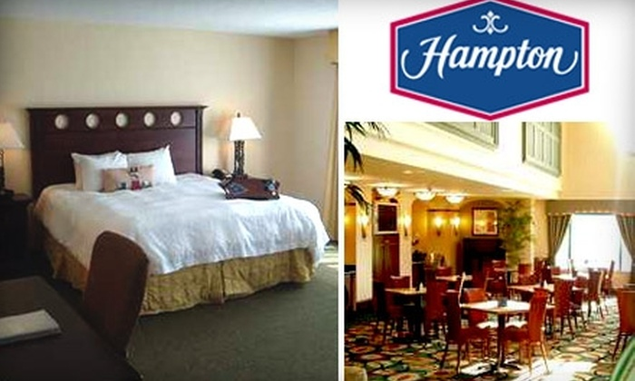 Hampton Inn & Suites Tampa - Historic Ybor: $99 for a Laugh-Out-Loud Overnight Package at Hampton Inn & Suites Tampa/Ybor City/Downtown (Up to $339 Value)